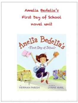 Amelia Bedelia's first day of school writing activity