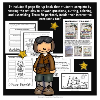 Amelia Earhart Biography & Activity Pack