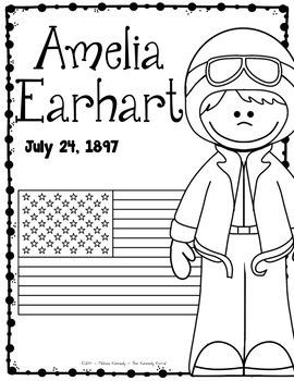 Amelia Earhart Research Report Bundle