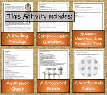 Amelia Earhart - 5th Grade & 6th Grade Close Reading Activity
