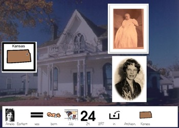 Amelia Earhart Adapted story