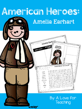 Amelia Earhart {American Heroes}