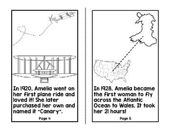Amelia Earhart Beginning Biography