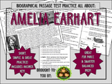 Amelia Earhart-Biographical Passage Practice