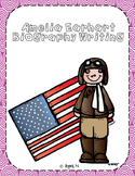 Amelia Earhart Biography Writing Tab Book
