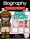 Amelia Earhart Biography Unit ~ 95 pages!