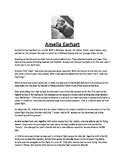 Amelia Earhart Biography and Assignment