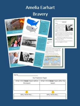 Amelia Earhart - Bravery