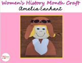 Women's History Month Craft (Amelia Earhart)