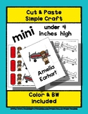 Amelia Earhart - Cut & Paste Craft - Mini Craftivity for P