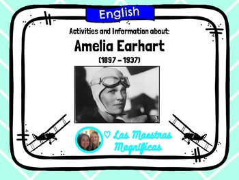 Amelia Earhart - English