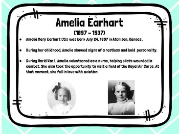 Amelia Earhart - English