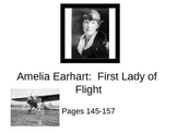 Amelia Earhart: First Lady of Flight Unit Packet