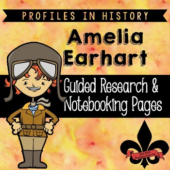 Amelia Earhart Guided Research Activity