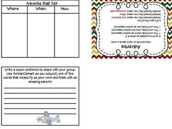 Amelia Earhart ~ Integrated Literacy Unit ~ Grades 3 & 4