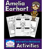Amelia Earhart Biography Interactive Notebook Activities