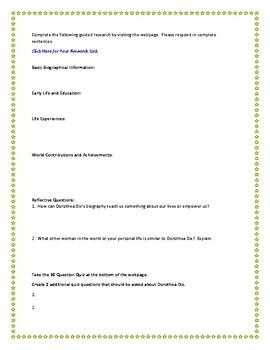 Dorothea Dix Internet Research Guide