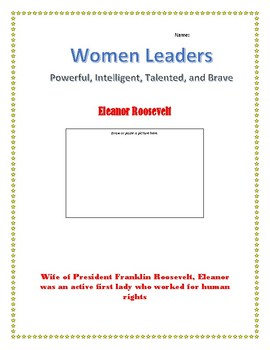 Eleanor Roosevelt Internet Research Guide
