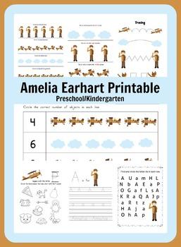 Amelia Earhart Learning Packet