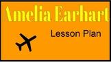 Amelia Earhart Lesson Plan