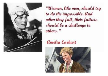 Amelia Earhart Maze Puzzle