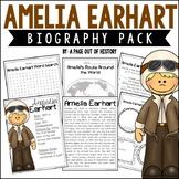 Amelia Earhart Biography Pack (Women's History)