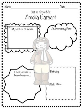 Amelia Earhart Mini Unit