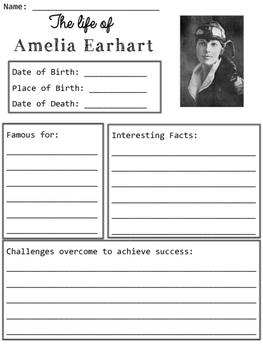 Amelia Earhart Organizers