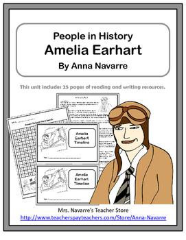 Amelia Earhart - People in History