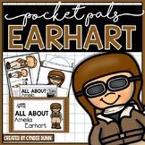 Famous Women Amelia Earhart Pocket Pal