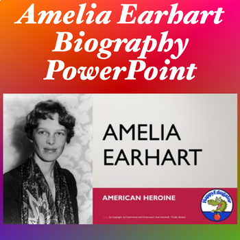 Amelia Earhart PowerPoint for Women's History Month