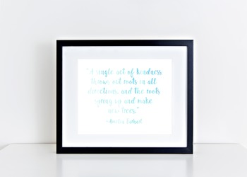Amelia Earhart Quote Printable