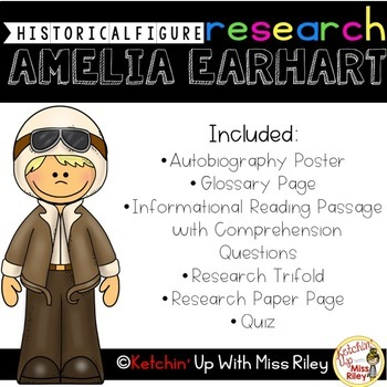Amelia Earhart Research Packet
