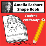Amelia Earhart Shape Book