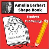 Amelia Earhart Shape Book
