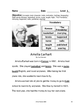 Amelia Earhart - Soaring High