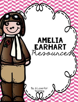 "Amelia Earhart {Women's History Month"""