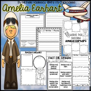 Amelia Earhart: Women's History Month