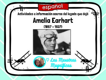 Amelia Earhart - español