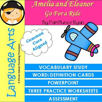 Amelia and Eleanor Go For a Ride Vocabulary Activities
