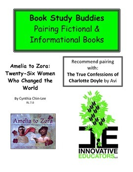 Amelia to Zora - Pairing Fictional and Informational Books
