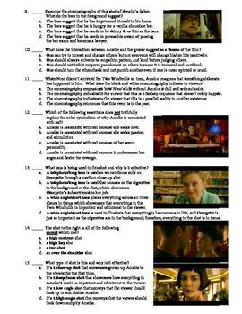 Amelie Film (2001) 15-Question Multiple Choice Quiz