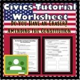 Amending the Constitution- Do You Have an Eraser? Floridas