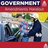 27 Amendments   US Government