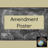 Amendment Poster