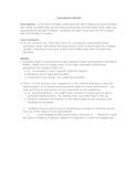 Amendment Project and Quiz