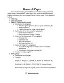 Amendment Research Paper