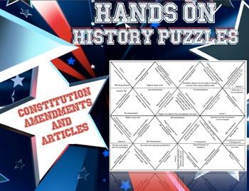 Amendment and Articles Puzzle