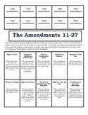 Amendments 11 - 27 Foldable
