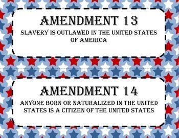 Amendments 11-27 Posters